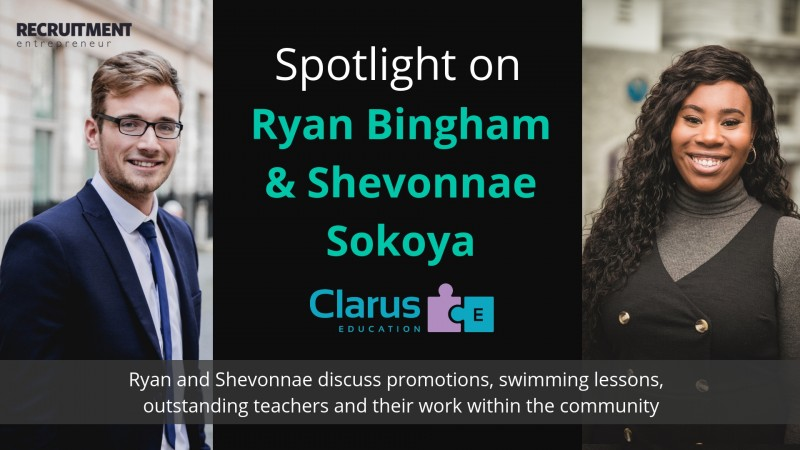 Read more about 'In the spotlight: Ryan Bingham and Shevonnae Sokoya'...